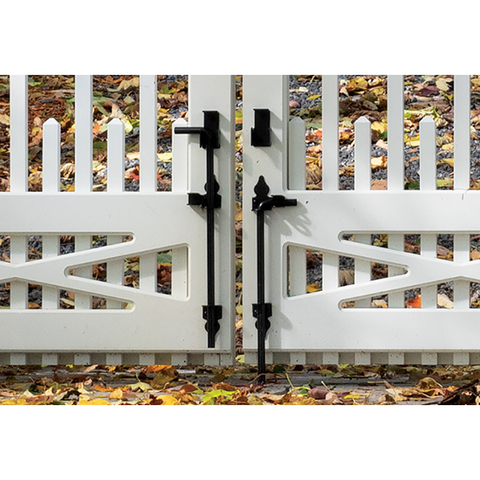 Snug Cottage Hardware Traditional Cane Bolts for Wood Gates - Stainless Steel