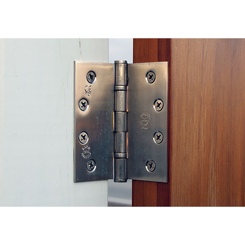 Snug Cottage Hardware Stainless Steel Contemporary Butt Hinges for Wood Gates, Pair