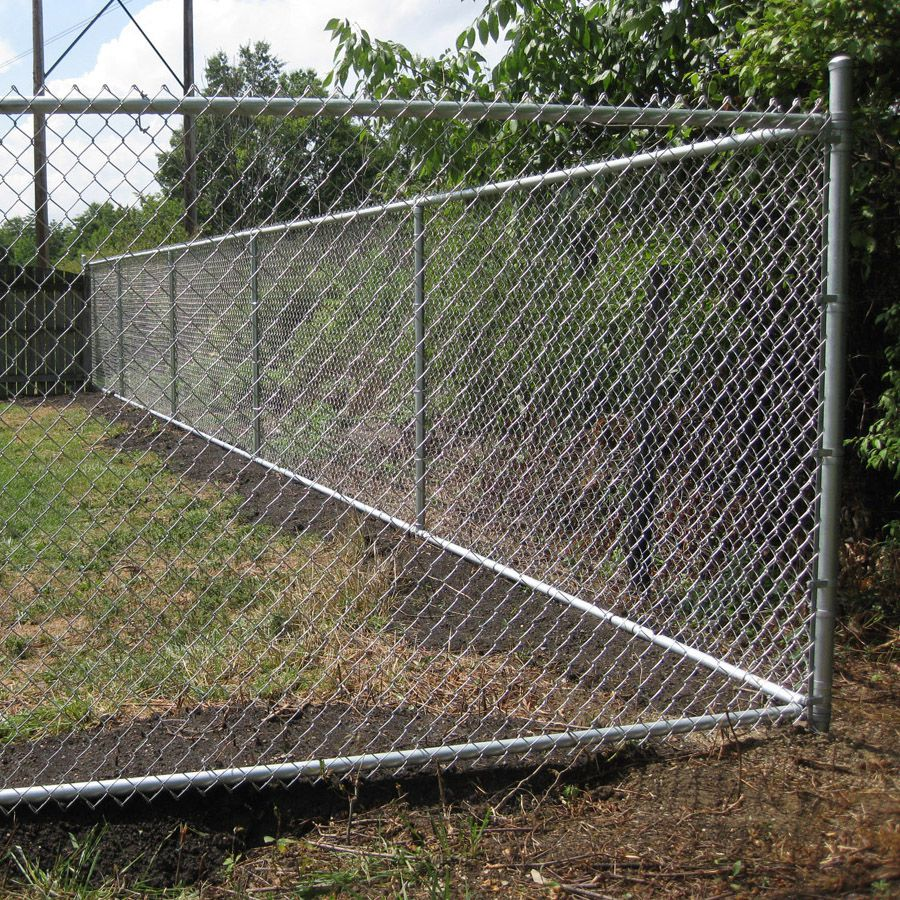 9 Gauge X 2 Chain Link Fence Fabric Aluminized Hoover Fence Co