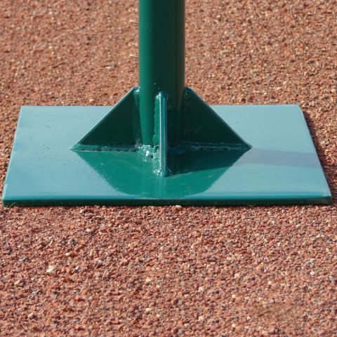 "White Line Equipment Dirt Tamp 10"" Square"