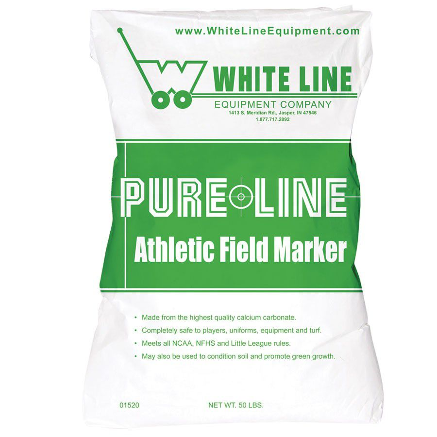 White Line Equipment Athletic Field Marking Chalk