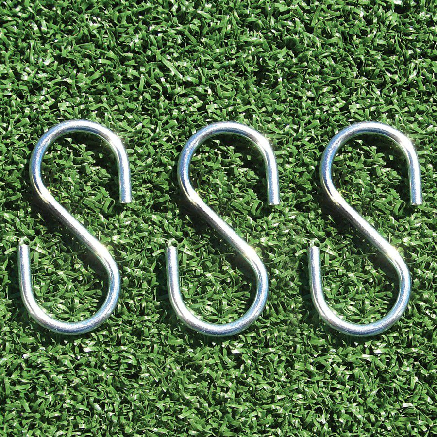 "Steel ""S"" Hooks - Package of 100"