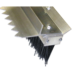 Double Play Finishing Broom With Scarifier Teeth 28
