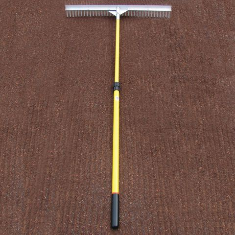 Baserunner Rake With Telescopic Handle 36""