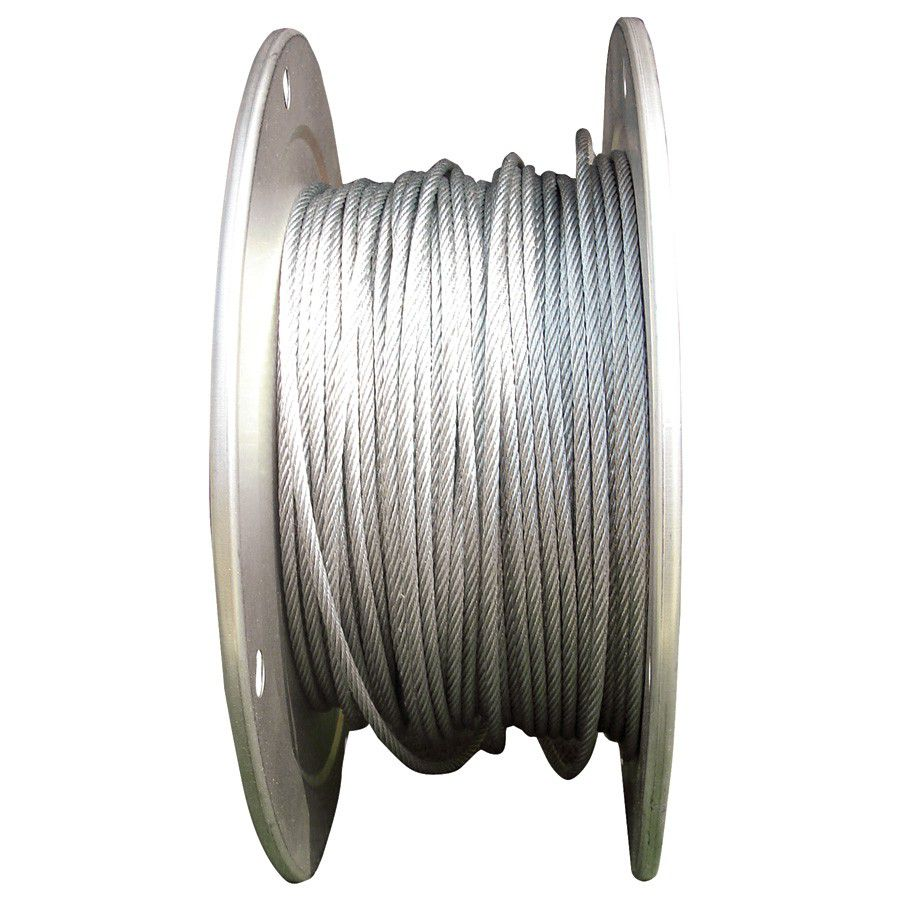 7-Strand Zinc Coated Galvanized Steel Cable