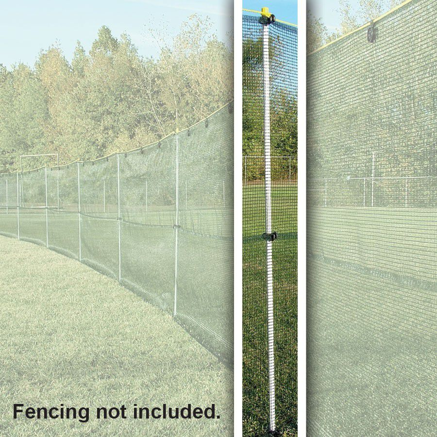 Flex-Post Package - Safe-T-Fence Package w/o Ground Sleeves and Tuff-Fence Fabric