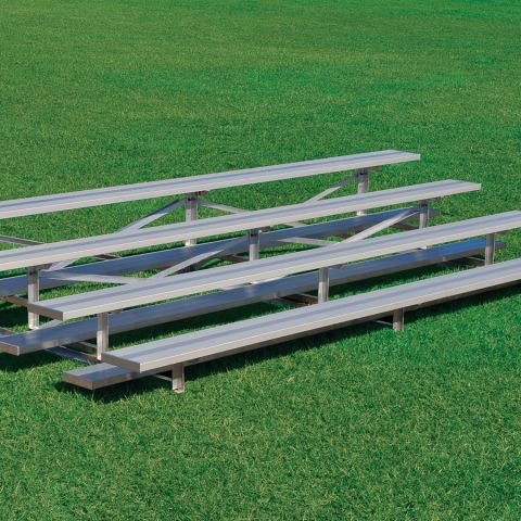 4 Row Low Rise Bleachers