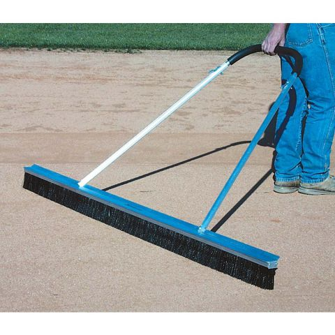 Professional Drag Broom 7' Wide With Leveling Edge