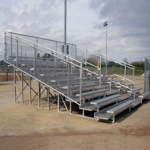 Deluxe 10 Row Bleachers