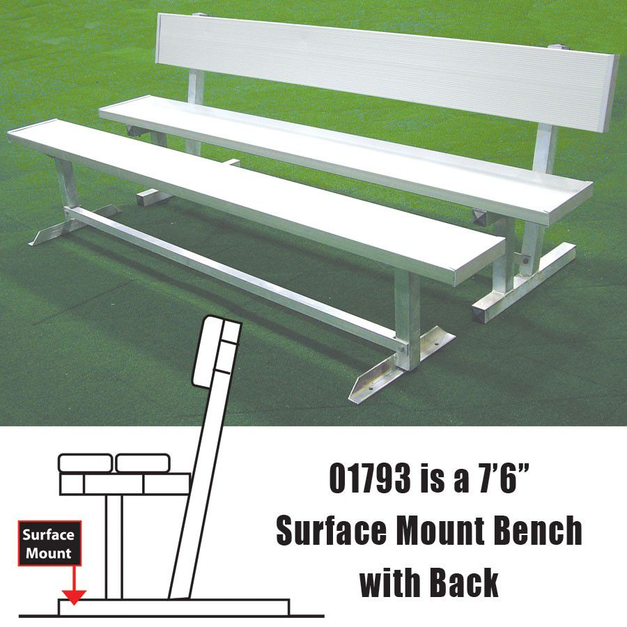 Locker Room, Sideline & Dugout Benches
