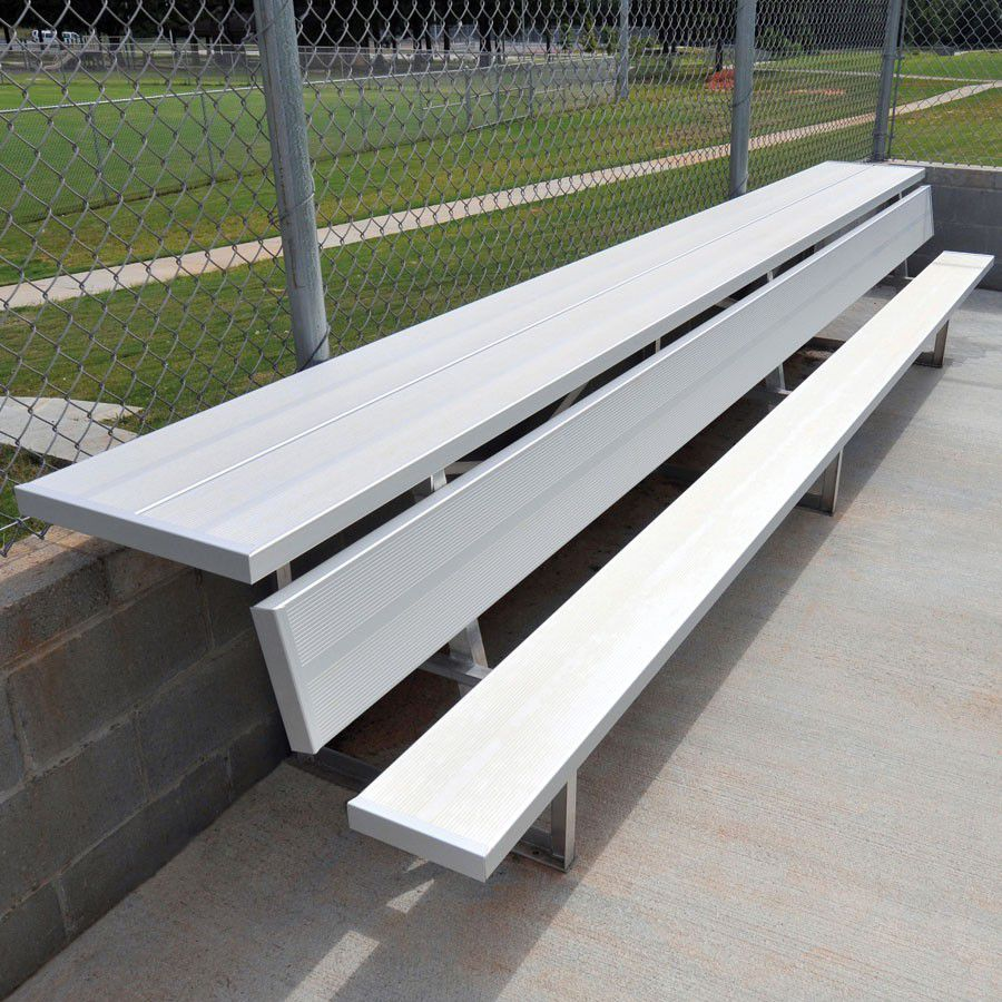 Player Bench with Shelf