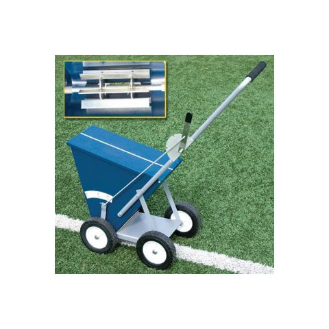 Alumagoal 4-Wheel Line Marker with Solid Rubber Wheels (65 lb. capacity)