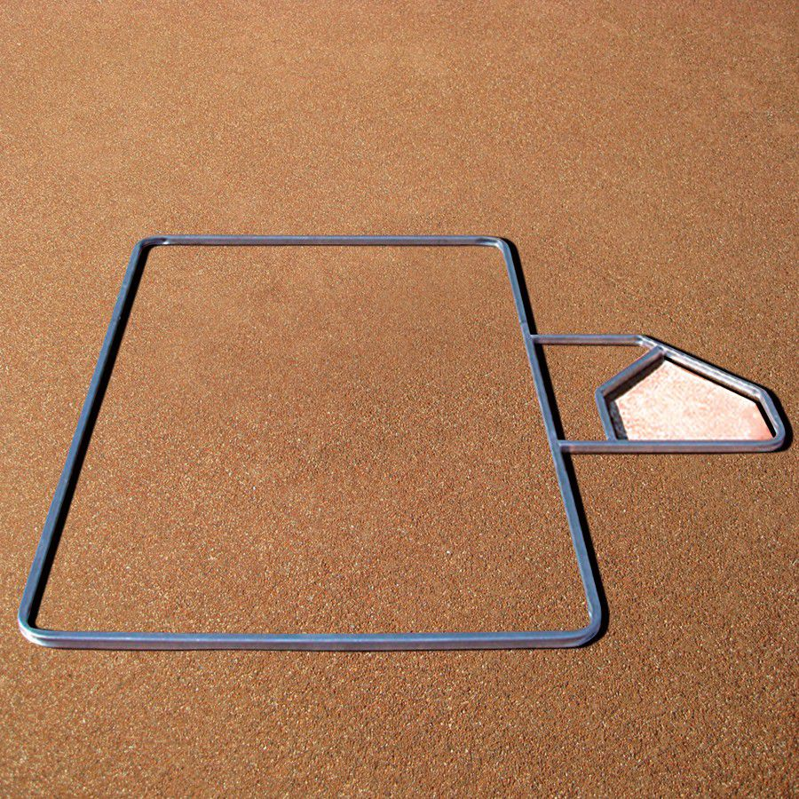 Standard Batter's Box Template