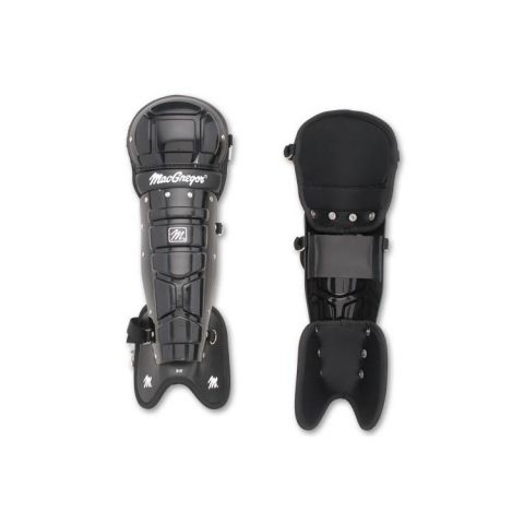 MacGregor Umpires Leg Guards - Black
