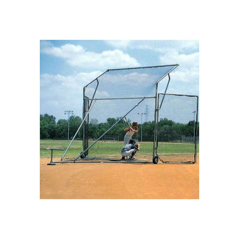 Sandlot Portable Backstop Side Wing Replacement Net (Requires 2)