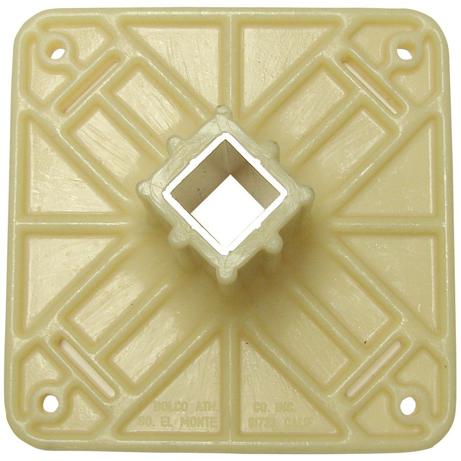 Bolco Plastic Anchor Top Plate w/Steel Insert
