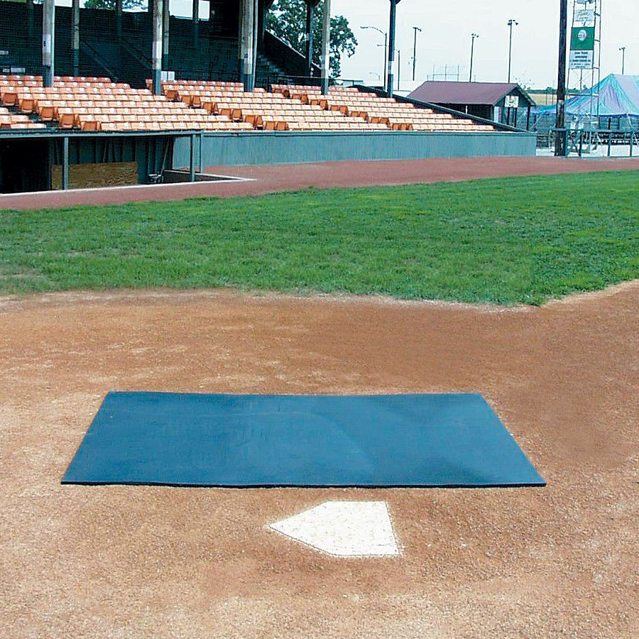 Pro-Gold Batting Practice Mat - HD Rubber 4' x 6' x 1/2""