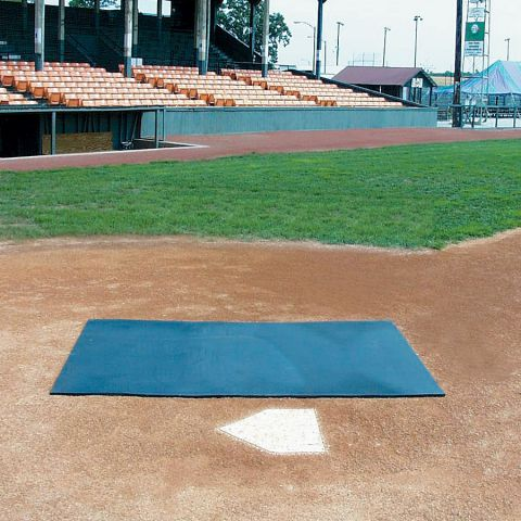 Batting Practice Mat - HD Rubber 4' x 6' x 1/2""