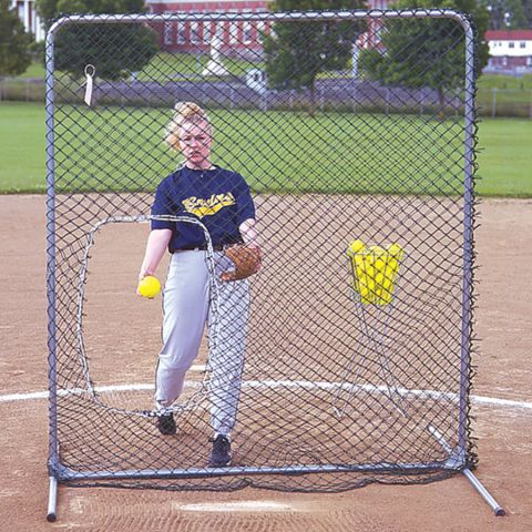 Jugs Replacement Net Only - For Jugs Softball Pitcher Protective Screen