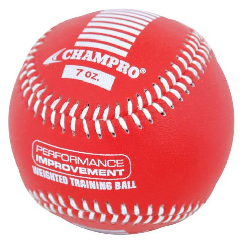 Champro Leather Cover Weighted Training Baseballs