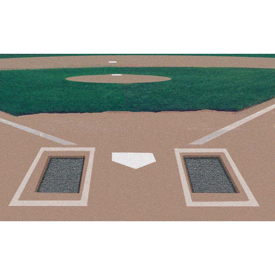 Batter's Box Foundations - Sold in Pairs