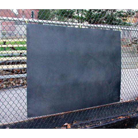 Rubber Backstop Matting - 4'H x 6'W