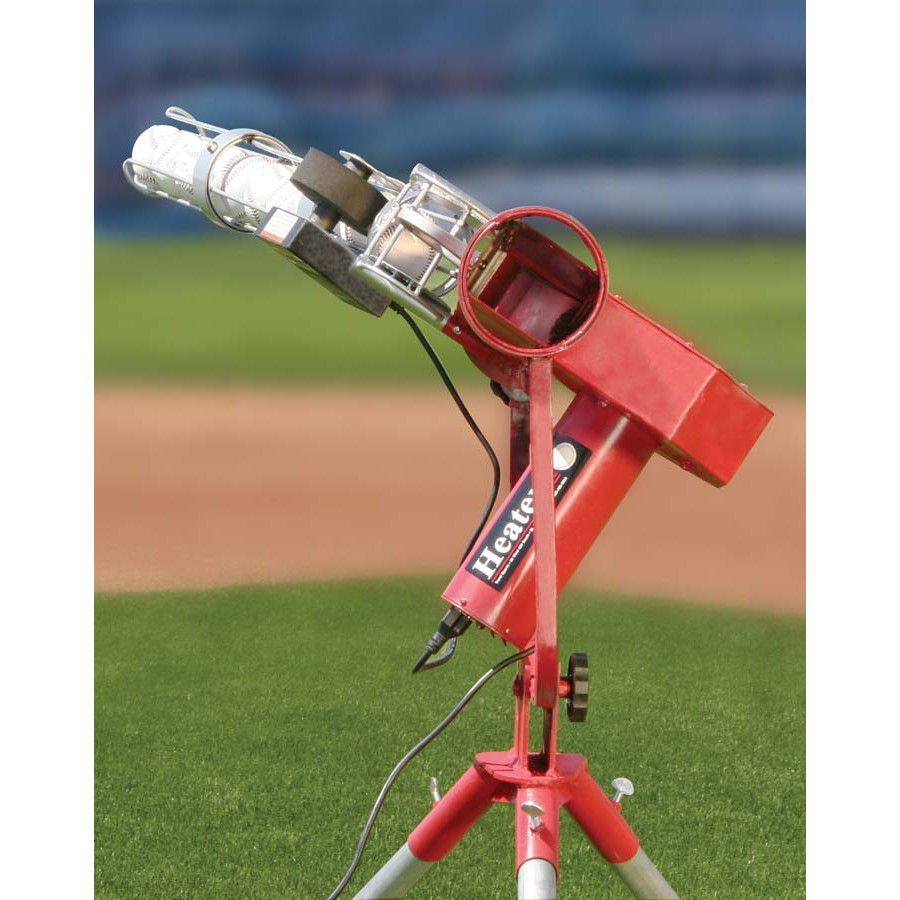 Heater Pro Baseball Pitching Machine Hoover Fence Co