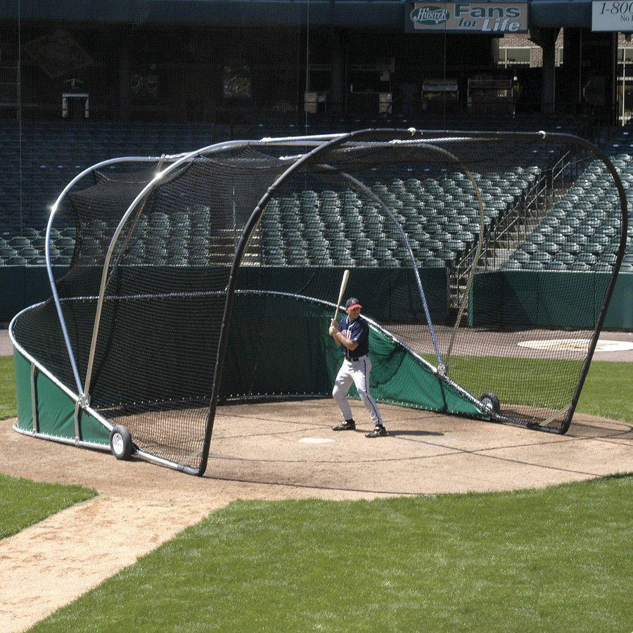 Big Bubba Pro Backstop Batting Cage