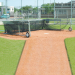 Collegiate Foldable Backstop Batting Cage (MA-03109)