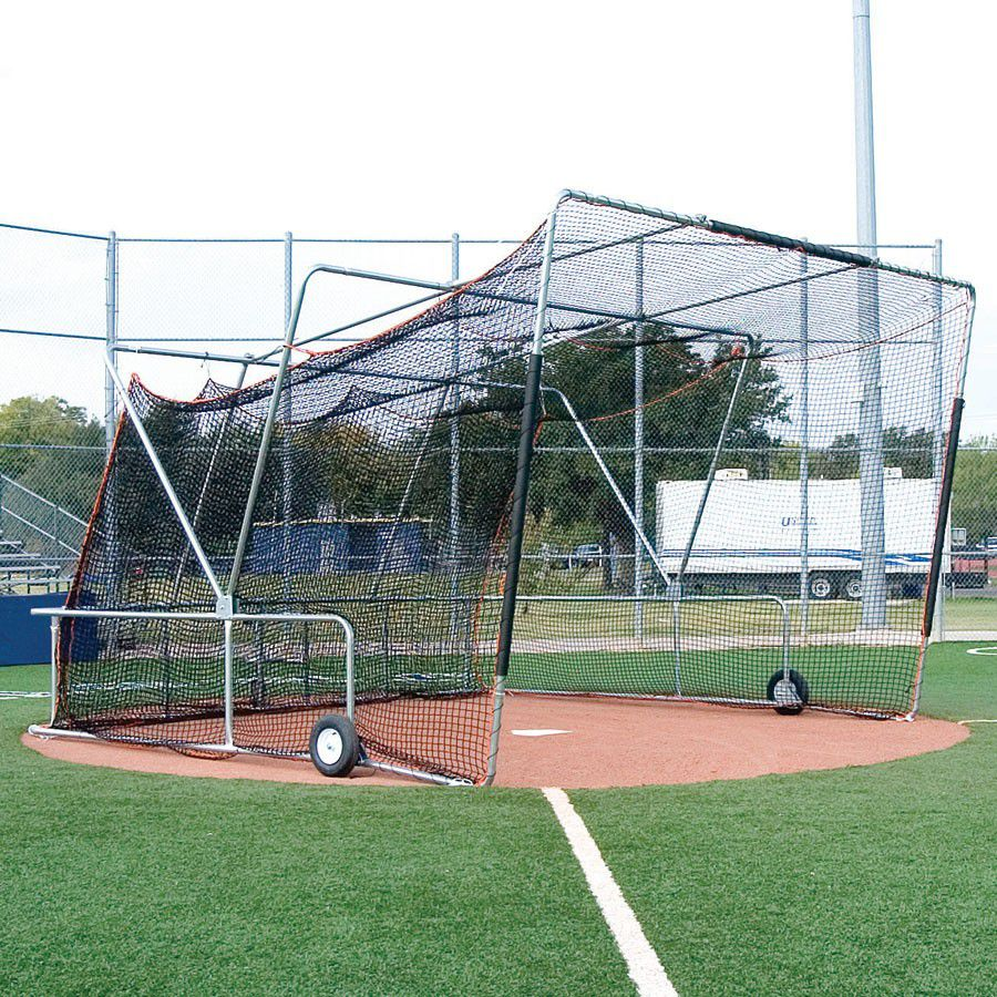 Collegiate Foldable Backstop Batting Cage