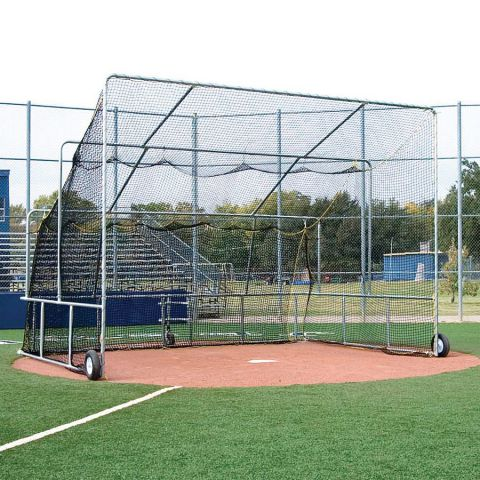 Collegiate Fixed Backstop Batting Cage