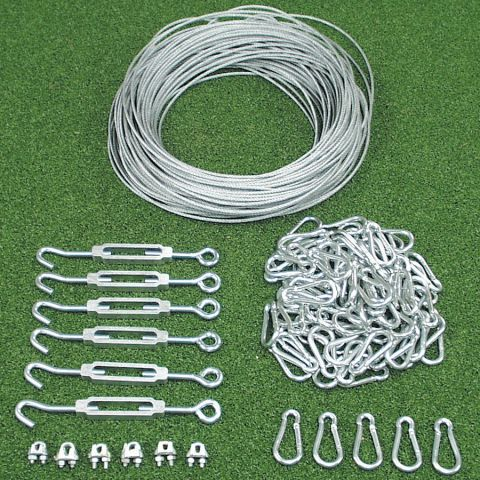 Batting Tunnel Netting Installation Kits
