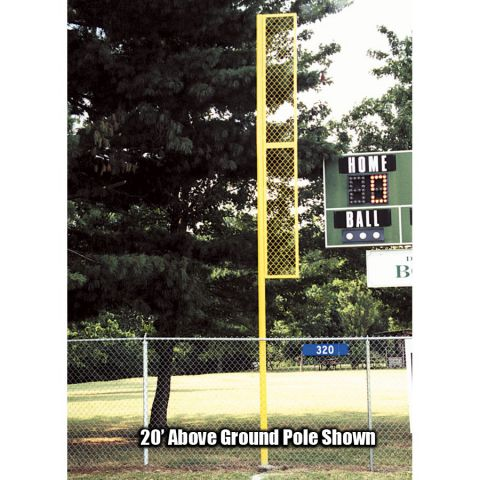 Traditional Foul Poles