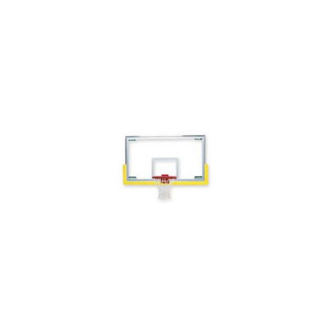 Bison Unbreakable Short Glass Backboard