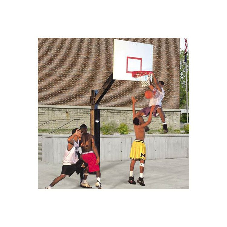 Bison Ultimate Fixed Height Basketball System