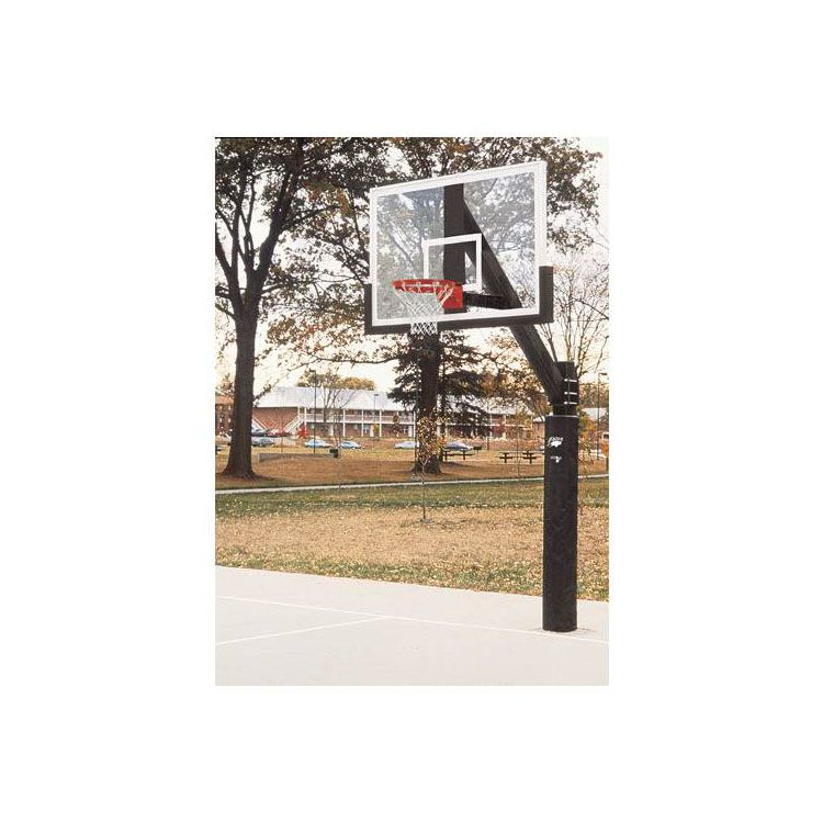 Bison Ultimate Glass Basketball System w/Padding