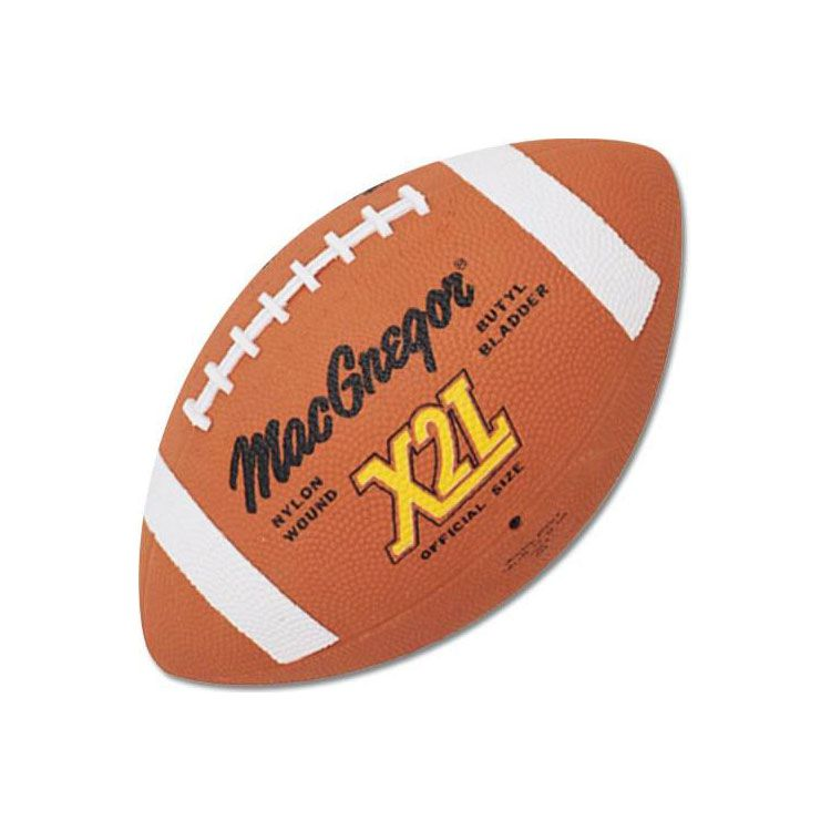 MacGregor X2L Rubber Football Official
