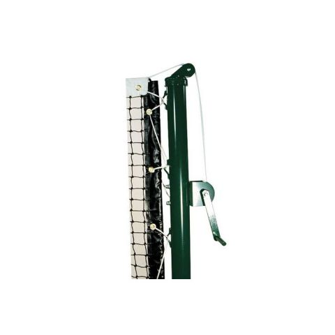 "External Ratchet Tennis Posts - 2-7/8"" Dia. - Green - Pair"