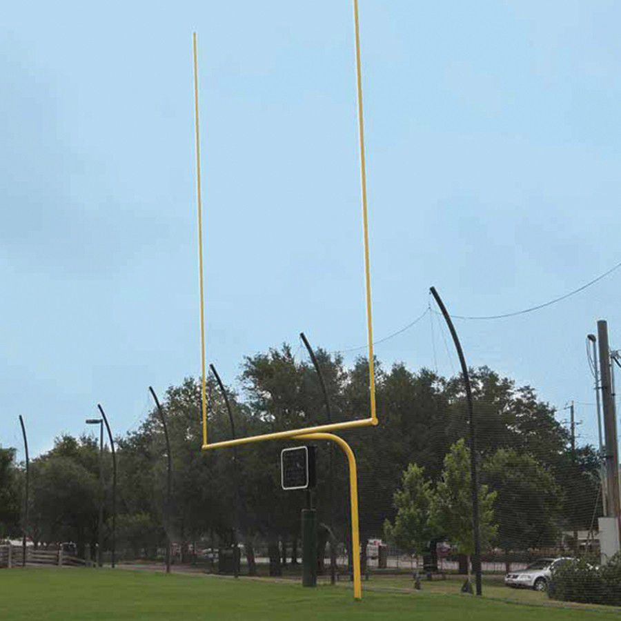 High School All Steel Gooseneck Goalposts