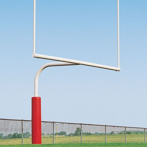 Porter Pro Style High School Gooseneck Goalposts - 30' Overall Height - Pair - Quote Required