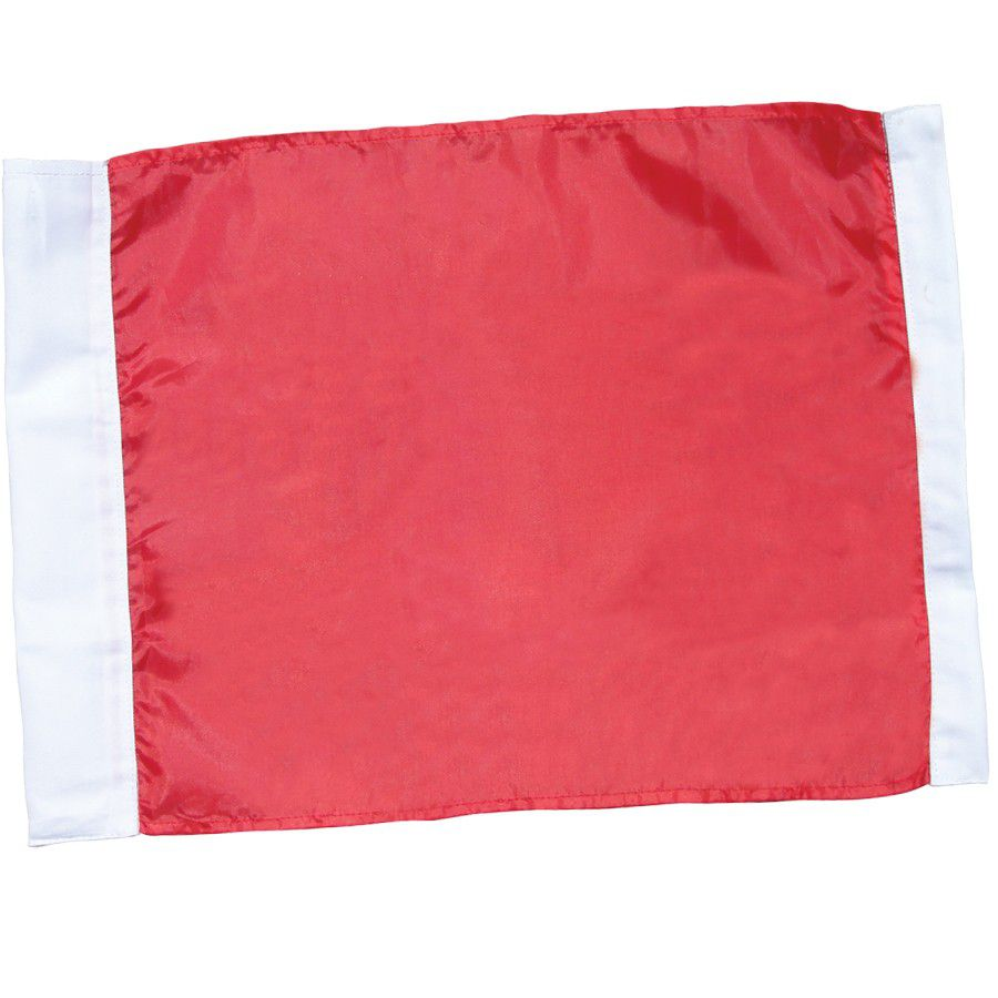 Champro Deluxe Replacement Flags - Red w/White Trim - Set of 4