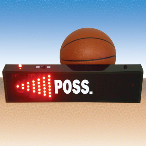 Basketball Possession Indicator - LCD Style