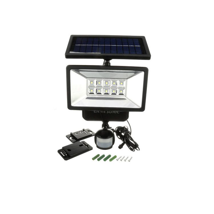 Gama Sonic Solar Security Light with Motion Sensor
