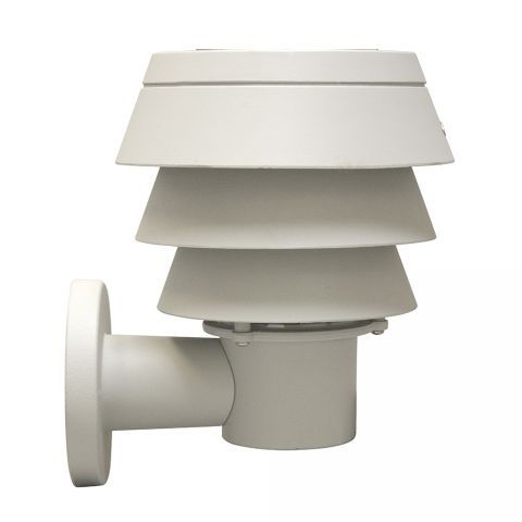 Gama Sonic Triple Tier Solar Light - Wall Mount - White