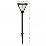 Gama Sonic Premier Garden Light - Set of 2 - Black (139201-5)