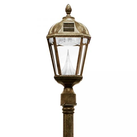 Gama Sonic Royal Solar Lamp Post - Single