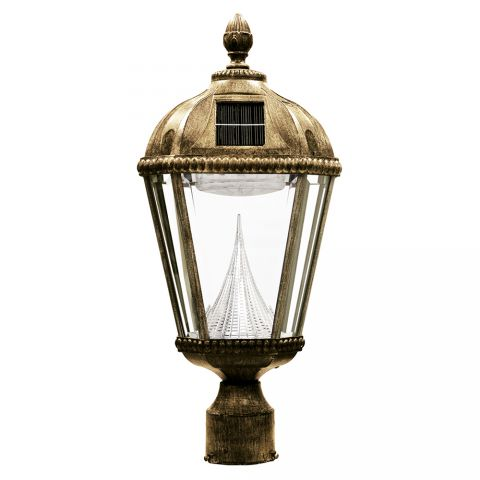 "Gama Sonic Royal Solar Lamp - 3"" Fitter"