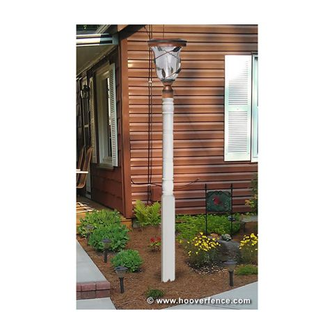 "Superior Classic Lamp Post, 4"" x 90"" w/Internal Support"
