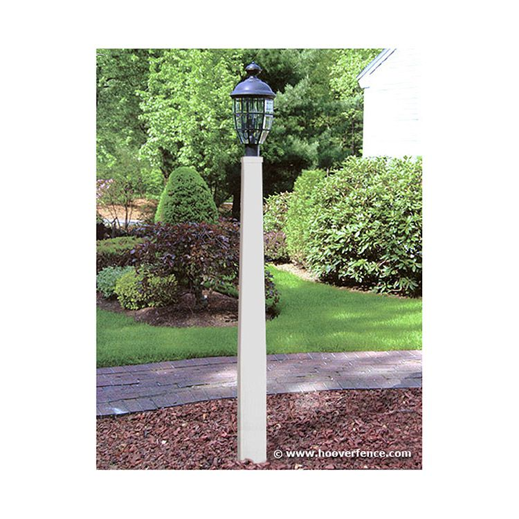 "Superior Manchester Lamp Post, 6"" to 4"" x 90"" w/Internal Support"