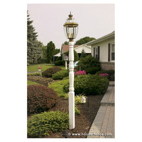 "Superior Traditional Lamp Post, 4"" x 90"" w/Internal Support"